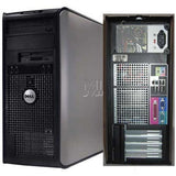 CLEARANCE!!! Dell Optiplex 780Tower  Computer Core 2 Duo 3 GHz / 8GB RAM / 500GB HDD/DVD