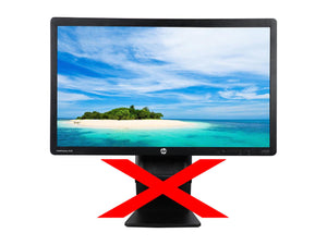 "HP EliteDisplay E221 21.5"" 1920 x 1080 Widescreen LED Backlit HP Monitor NO STAND"