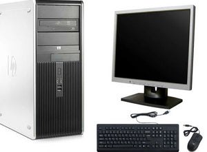 "HP DC 7900 Tower Core 2 Duo Dual Core  2.93Ghz 4GB 1TB DVDRW WiFi Windows 10 PRO 64 Bit 19"" LCD"