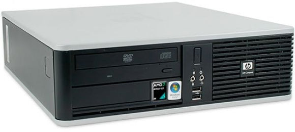 HP compaq pro DC5800 HP SFF  Computer intel Core 2 Duo E8400 3GHz 4GB 320GB DVD Win 7 pro 64 bit