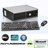 Fast Dell Optiplex Desktop PC Windows 7 Pro Computer Keyboard Mouse