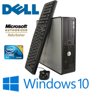 Dell OptiPlex 760 SFF 4GB RAM 250GB HDD Windows 10 Pro Keyboard Mouse Wifi