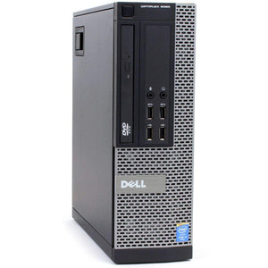 Dell OptiPlex 9020-SFF, Intel Core i5-4570 3.2GHZ, 16GB RAM, 256GB SSD, DVDRW, WIFI, Windows 10 Pro 64bit