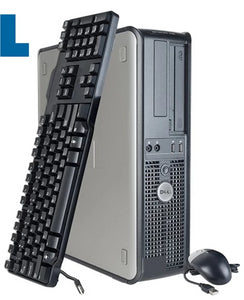 Dell OptiPlex Desktop PC 4GB RAM 1TB HHD Windows XP Pro Keyboard Mouse