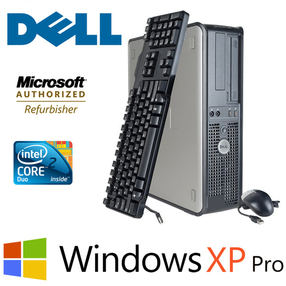 Dell Optiplex Desktop PC 4GB RAM 500G HD Windows XP Pro Keyboard Mouse
