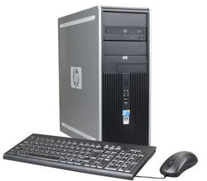 CLEARANCE!! Fast HP Tower Desktop Computer PC Core 2 Duo with Windows 7 Pro