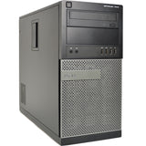 Dell Optiplex 7010 Tower Quad Core i5 3470 3.2GHz 8GB Ram 500GB Hard Drive Windows 10 Home 64 Bit