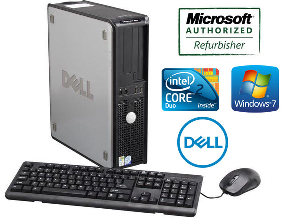Dell OptiPlex 780 Desktop Computer Windows 7 Pro 64 Bit, WIFI, Keyboard Mouse