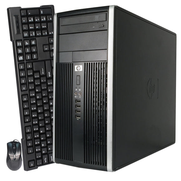 HP Compaq 6000 Pro MicroTower HP Desktop Computer Tower PC Intel Core 2 Duo Windows 10 Pro