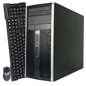 CLEARANCE!! Fast HP 6000/8000 Tower Desktop Computer PC Core 2 Duo with Windows 7 Pro