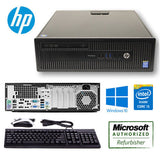 HP ProDesk 600 G1 SFF Core i5 4590 3.3 GHz - 4 GB RAM - 500 GB HDD - Windows 7 Professional Keyboard Mause