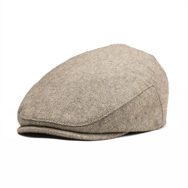 200000449 Brown / 48cm JANGOUL Small Size Kids Woollen Tweed Flat Cap Page Boy Girl Newsboy Caps Infant Toddler Child Youth Beret Hat 002