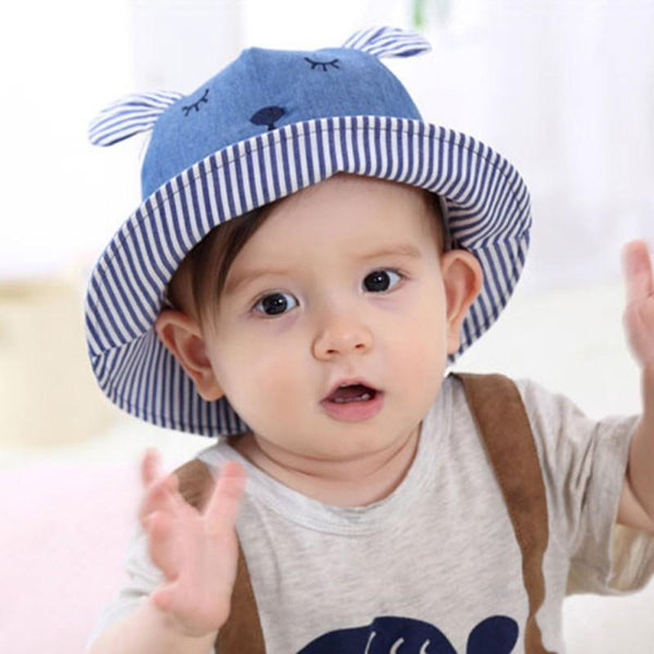 32701 2 Autumn Baby Hat Cotton Cap Toddler Infant New Girls and Boys Kids Hats Caps Newborn Sun Hats Little Bear Toddler 0-12MXb