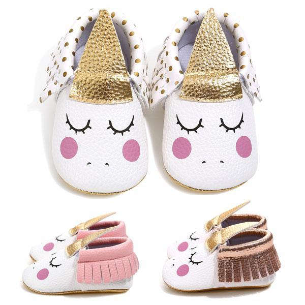 Chaussures Blanc / 0-6 mois Chaussons Starla