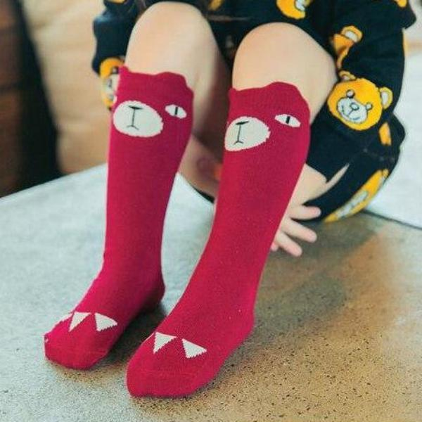 Chaussettes Genoux  Ours
