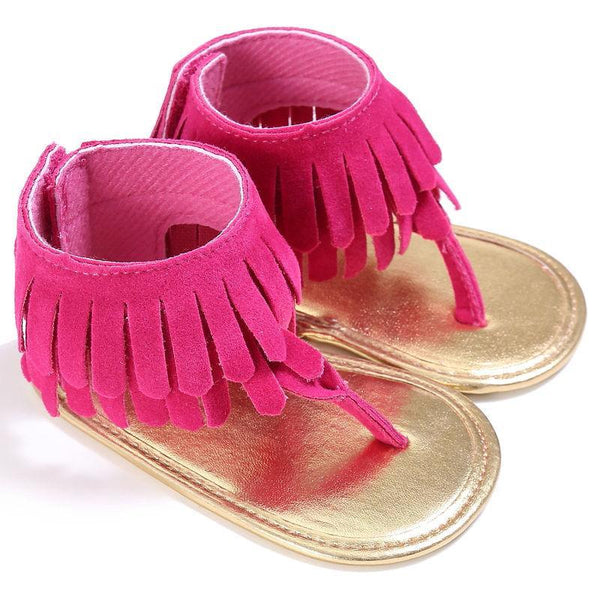 Chaussures Fuchsia / 0-6 mois Sandales Indiana