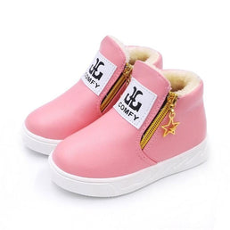 Chaussures Rose / 26 EU Boots Fourrées Girly