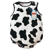 Ensemble Vache / 9 mois Barboteuse Fun