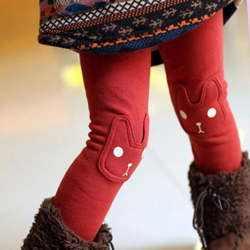Ensembles & Leggings Rouge / 2 ans Legging Chaud Lapin