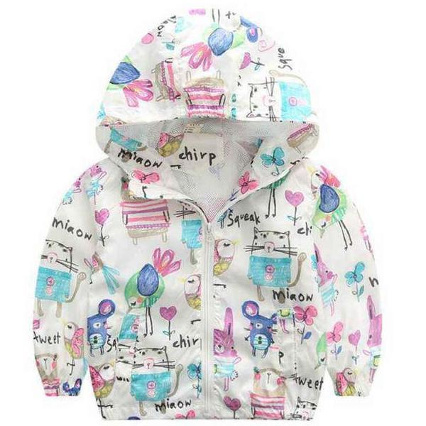 Manteau 24 mois Coupe-Vent Girly