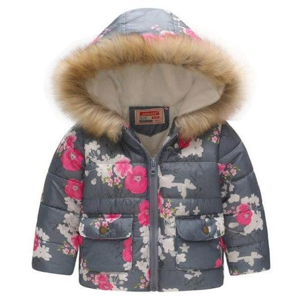 Manteau Cerisier / 2 ans Manteau Girly