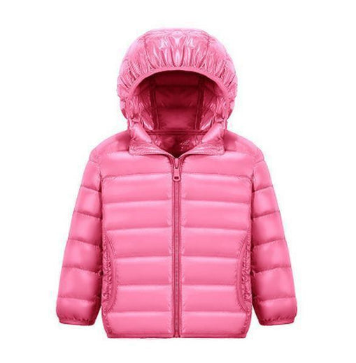 Manteau Rose / 4 ans Parka Fun