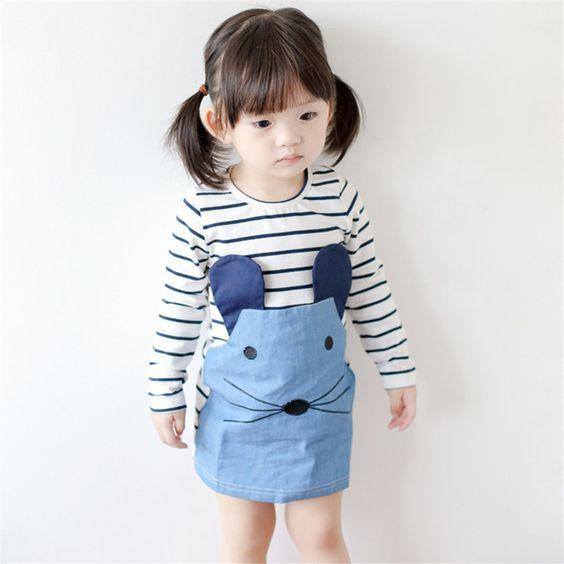 Robe Manches longues / 2 ans Robe Mimi
