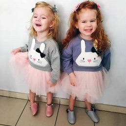 Robe Robe Lapinou Girly
