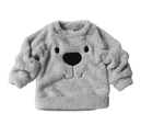 Sweatshirt Ours Gris / 2 ans Sweat Ours Polaire