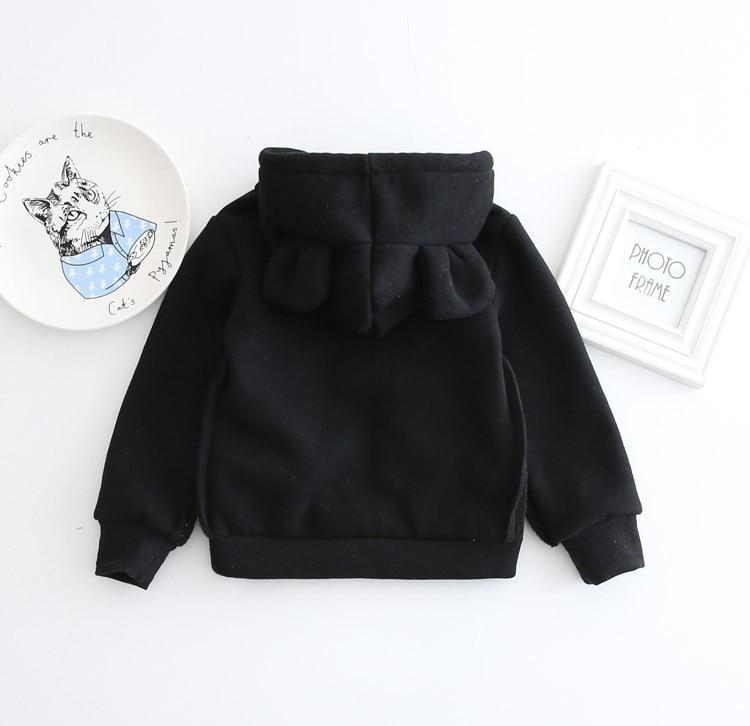 Sweatshirt Sweat à Capuche Ourson