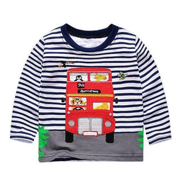tee-shirt London Bus / 18 mois Tee-shirt Marinière Vroom