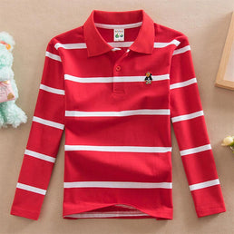 Tee-Shirt Rouge / 3 ans Polo Rugby