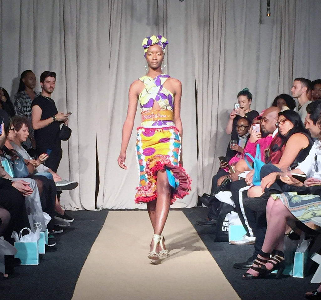 Bohn Jsell Collections brings us on a Safari ride for the Solstice NYFW Runway