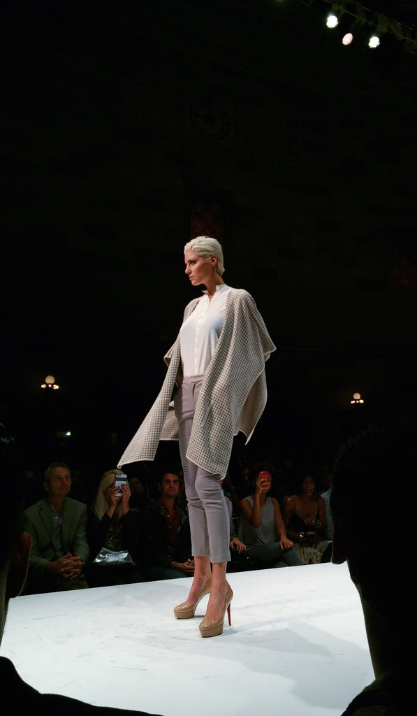 Anjé on the Runway at Style Fashion Week NYC