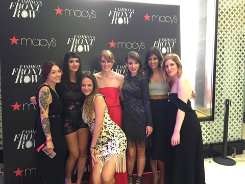 Front Row at Macys Fashion Show on E!