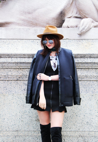 Nineteenth + Seventh: Alexandra Dieck Designer and Style Blogger