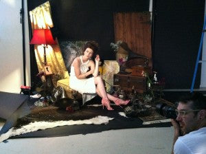 Meghan Hughes Fashion Faerie for SPELLBOUND