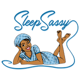 Sleep Sassy Loungewear made in USA logo