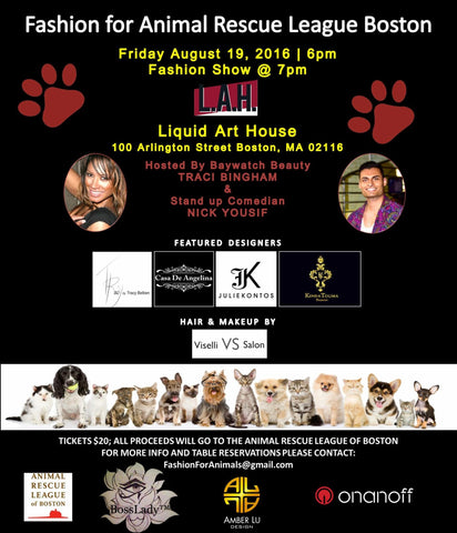 Shop Casa De Angelinas upcoming Fogo Collection Live at Animal Rescue League Charity Event