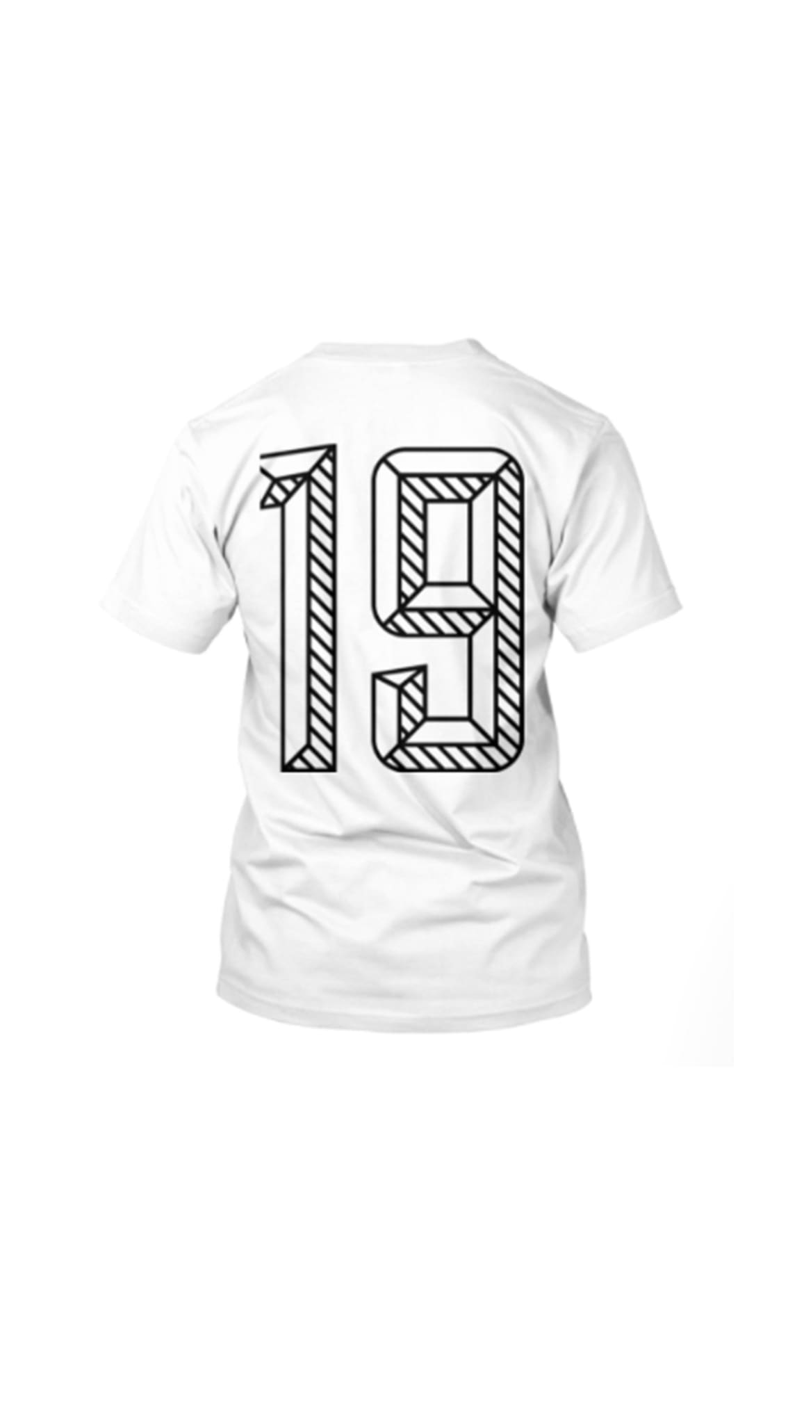 19th Amendment T-Shirt by Amanda Curtis Designs White T-Shirt back with 19th
