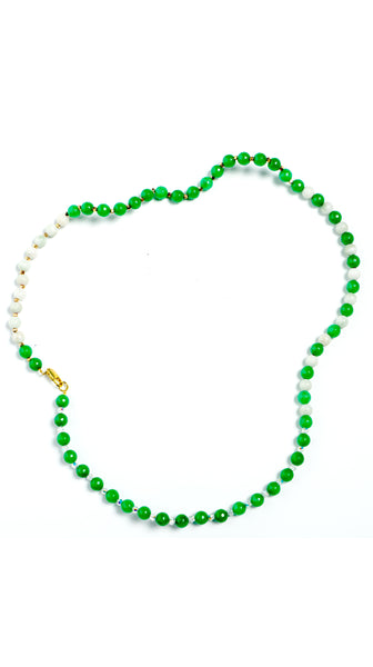 Emerald Green Necklace by Sul by Tapti Tapan Nineteenth Amendment