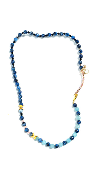 Blue Onyx Necklace by Soul by Tapti Tapan | Nineteenth Amendment