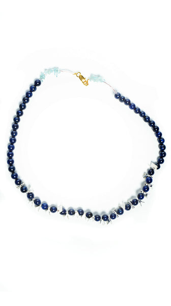 Sapphire Blue Necklace by Soul by Tapti Tapan | Nineteenth Amendment