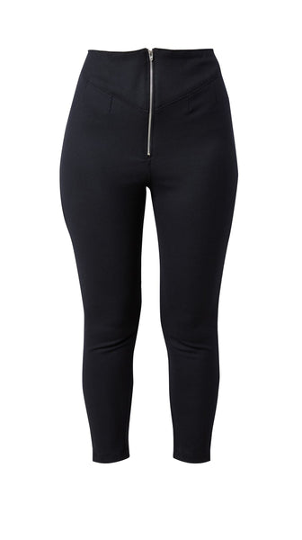Black Hi-Waisted Pants by Meghan Hughes | Nineteenth Amendment