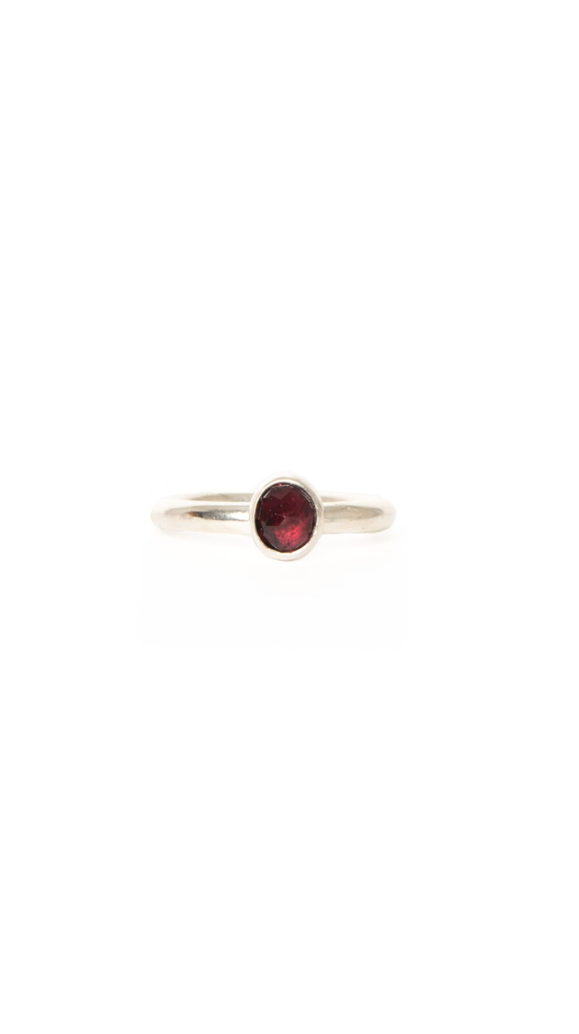 Sterling Silver red stone Blood Ring by KING RELD | Nineteenth Amendment