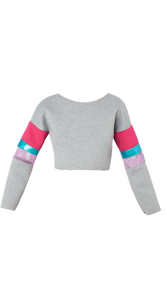 Grey Punky Brewster Sweatshirt by Meghan Hughes Nineteenth Amendment