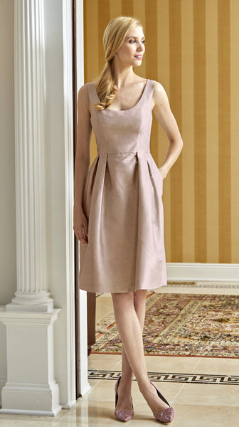 Camellia Dress in Blush