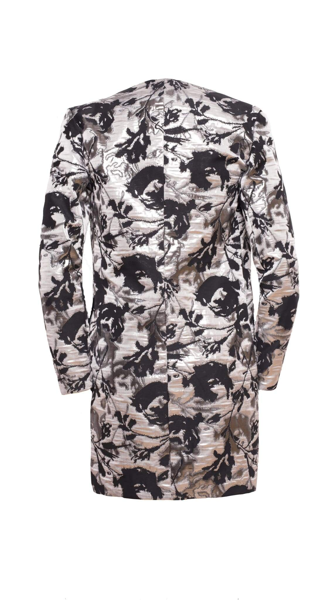 Candra Jacquard Evening Coat by VARYFORM | Nineteenth Amendment