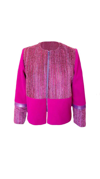 Chi Chic Jacket in Pink by Bianca Zidik | Nineteenth Amendment