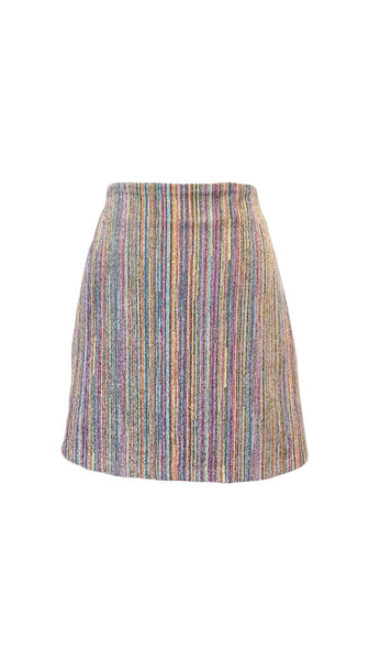 Chi Chic Skirt in Multi-color by Bianca Zidik | Nineteenth Amendment